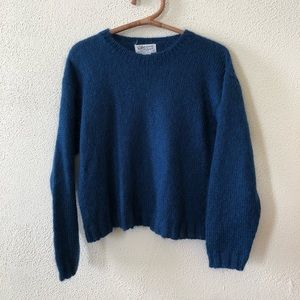 Vintage Cozy Oversized Mohair Sweater M
